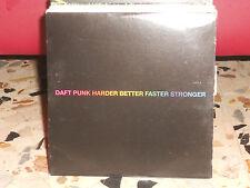 DAFT PUNK - HARDER BETTER FASTER STRONGER - cd singolo cardsleave usato 2001