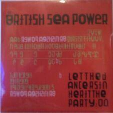 BRITISH SEA POWER - Let The Dancers - G/FOLD 2 x VINYL LP SEALED + SIGNED PRINT