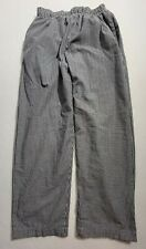 Chef Works Checkered Chef Pants Womens Size Large