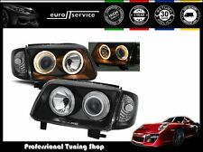 FARI ANTERIORI HEADLIGHTS LPVW63 VW POLO 6N2 1999 2000 2001 ANGEL EYES