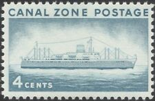 "Canal Zone 1958 ""Ancon II""/Ships/Boats/Transport/Tourism/Commerce 1v (n45307)"