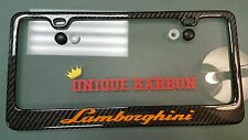 Unique-Karbon Carbon Fiber License Plate Frame lamborghini lambo huracan