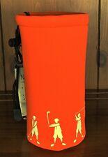 Neophrene Insulated Bottle Holder. Orange