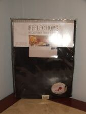 NIP Reflections 52 by 70-Inch Oblong / Rectangle Tablecloth spills wipe up