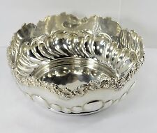 Bailey Banks & Biddle  - Sterling Silver Elaborate Centerpiece Bowl