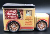 Vintage Coca Cola Tin Truck Bottling Co Collectible Container Retro 1990s