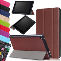 Case For Amazon Alexa Fire HD 8 10 2019 2020 Smart Stand Leather Magnetic Cover