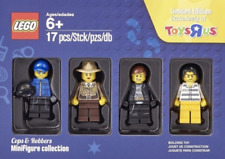 Lego Toys R Us Exclusive Cops & Robbers Minifigure Collection New 4 Minifigures