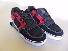 Etnies Sheckler 6 Men's Leather Skate Skateboard Shoes Black Red Size 11.5