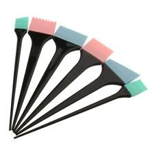 6pcs Brosse à Couleur Cheveux Pinceaux Applicateur Coloration Coiffure