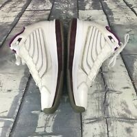 Nike Big Ups White Purple Jordans Size 7 Youth 469437-105