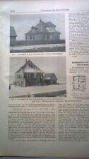 1919 85 Hannover Linden Georgenfelde Bramsche Schleusenmeisterhäuschen