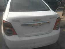 2014 Chevrolet Sonic Trunk/Hatch/Tailgate Ntbk Without Integral Spoiler  849633