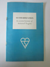 Standardization Published by The British Standards Institution 1947