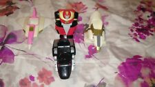 1995 Power Rangers Ninja Zords Lot of 4 (Pink,Red,White and Black Zord)