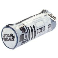 Official Star Wars R2-D2 Sound Effect School Pencil Case - New Blue White Talkin