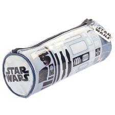 Oficial Star Wars r2-d2 EFECTOS SONIDO Bolsa Lapicera escolar - Nuevo Azul