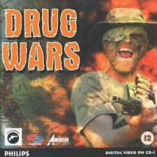 PHILIPS CDI DRUG WARS GAME SPIEL JEU CD-I GAME MAGNAVOX