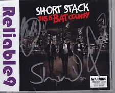 Short Stack - This is Bat Country CD Signed by the band picture disc - 2010 AUS