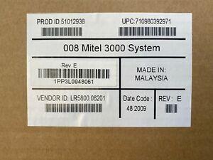 Inter-tel 618.5000 Rev E New NIB Encore CX Mitel 3000 51012938