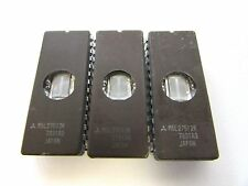 MITSUBISHI M5L27512K IC 28Pin Integrated Circuit EPROM - Lot of 3 Pcs / TESTED