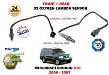 FOR MITSUBISHI SHOGUN PAJERO 3.5i 2000-2007 FRONT + REAR 02 OXYGEN LAMBDA SENSOR