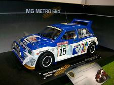 MG METRO 6R4 ROTHMANS #15 RALLY SAN REMO 1986 au 1/18 SUN STAR 5533 voiture