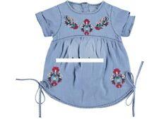 Baby Mädchen Jeanskleid,  Kleid  Gr. 80, 86, 92, 98