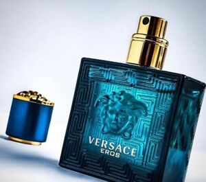 VERSACE EROS for Men 3.4-3.3 f.l.o.z. EDT cologne spray NEW TESTER sample