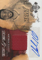 2013-14 Court Kings Sketches & Swatches Autographs #18 Udonis Haslem Jersey /199