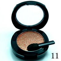Single Eye Shadow Palette Pressed Powder Makeup Shimmer Metallic Color #11 D2752