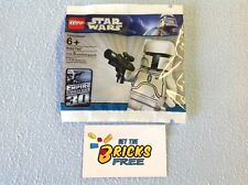 Lego Star Wars 4597068 White Boba Fett Polybag New/Sealed/Retired/Hard to Find