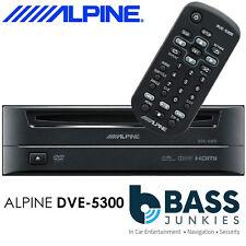 Alpine DVE-5300 - Single 1 Din Boot Mount Car CD DVD MP3 WMA DivX Disc Player