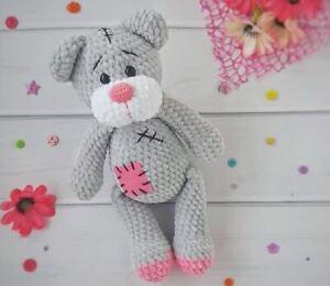 CROCHET PATTERN for Cute Teddy Bear Toy Amigurumi