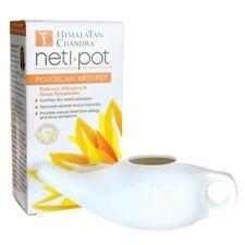 Himalayan Chandra Porcelain Neti Pot (The Original) Nasal Wash