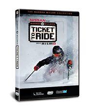 WARREN MILLER'S TICKET TO RIDE DVD - WINTER SPORTS - SKIING
