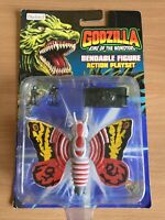 Godzilla King Of The Monsters Mothra Figure Carded By Bluebird Unopened 1994