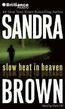 Sandra Brown Slow Heat in Heaven Abridged audiobook on Compact Disc