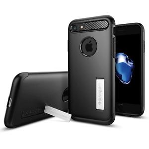Spigen Slim Armor Rugged Case for iPhone  / 8 / 7 / 6 Kickstand Cover