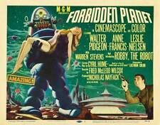 FORBIDDEN PLANET Movie POSTER 30x40 Walter Pidgeon Anne Francis Leslie Nielsen