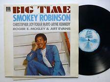 SMOKEY ROBINSON Big Time LP soundtrack NETHERLANDS press NEAR-MINT vinyl   Fm69