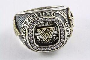 Masonic Freemason Ring Templar Seal Ring Freemason 925 Silver /306