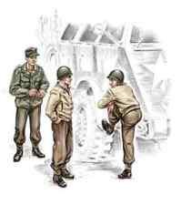 Equipage pour camion US WW2 1/72 CMK