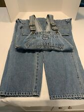 Paco Jeans Denim Bib Overalls Carpenter Size Small
