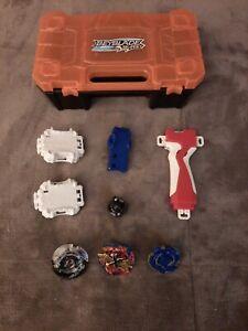 **Beyblade Burst Super Battle Toys & Launchers with Beyblade Hard Case***Bundle