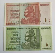 More details for zimbabwe -  setx 10 & 20 trillion dollars, 2008 xf/au bank notes