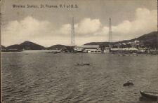 St. Thomas Vi Wireless Station c1915 Postcard