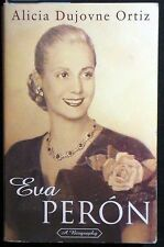 Eva Perón: A Biography by Alicia Dujovne Ortiz PBk 1997 1st Trade Pbk NEAR FINE