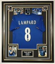 Frank Lampard Signed Chelsea Shirt FRAMED Autographed Jersey AFTAL DEALER COA