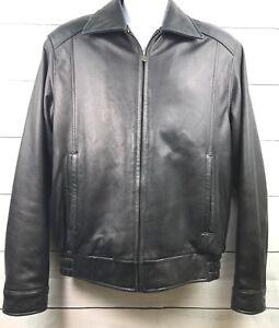 Columbia Sportswear Company  Genuine Leather Bomber Jacket Size S/P M807
